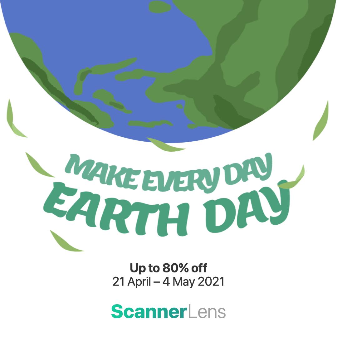 Earthday Scannerlens